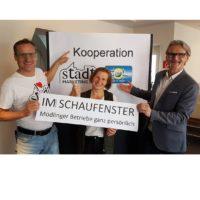 2018-10-09 Birgit Pferschy-Seper, Wein und Heuriger Pferschy-Seper – IM SCHAUFENSTER