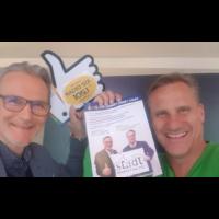 2019-02-12 Im Schaufenster – Mödlings Betriebe ganz persönlich – Gert Zaunbauer, Putz & Stingl