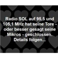 2019-03-22 In Memorial: Radio SOL musste mal 2019 kurzfristig seinen Sendebetrieb einstellen